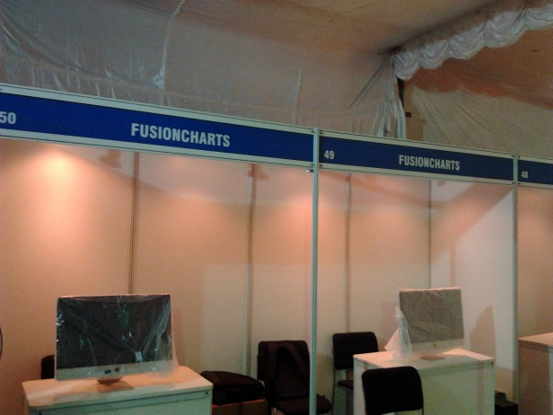 FusionCharts-booth-space-at-nasscom-product-conclave-2011