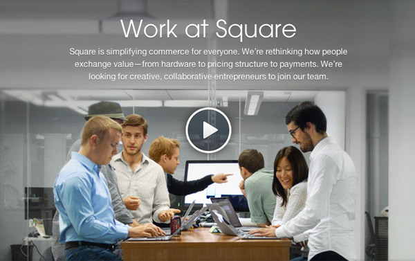 Square Careers - Vision