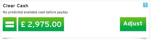 Money Dashboard - Clear Cash