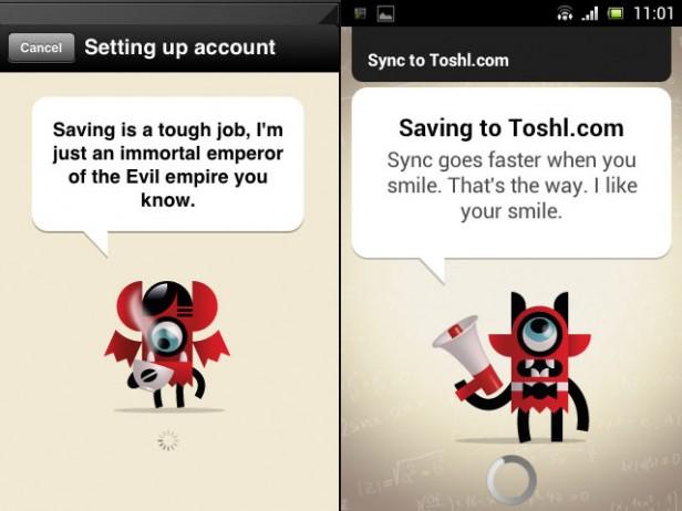 Toshl - Mascot