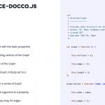 Output of Docco