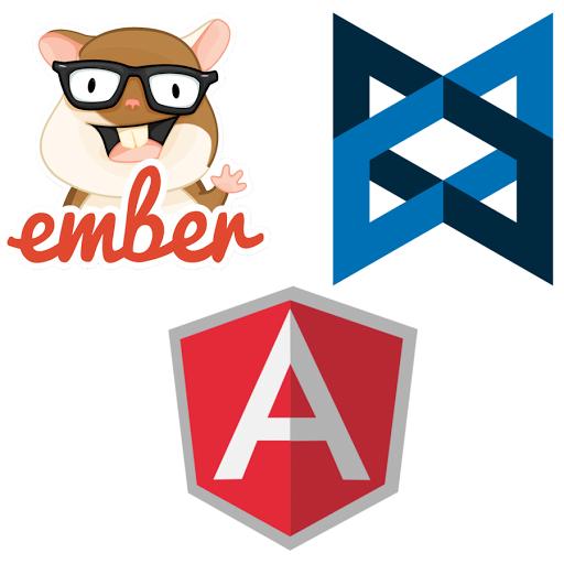 AngularJS Backbone and Ember JavaScript Frameworks