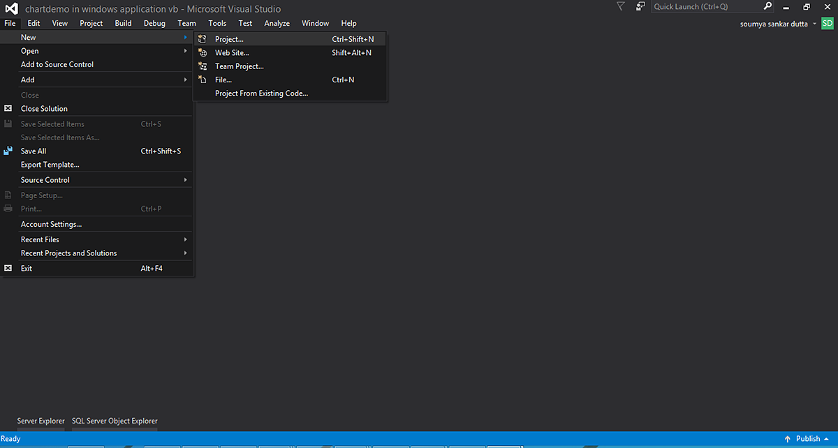 Rendering Charts in WPF Application using Visual Studio - FusionBrew ...