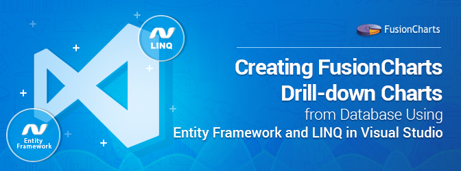 Creating FusionCharts Drill-down Charts from Database Using Entity Framework and LINQ in Visual Studio thumbnail