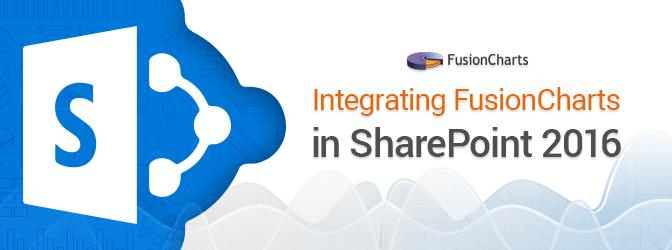 Integrating FusionCharts in SharePoint 2016 thumbnail