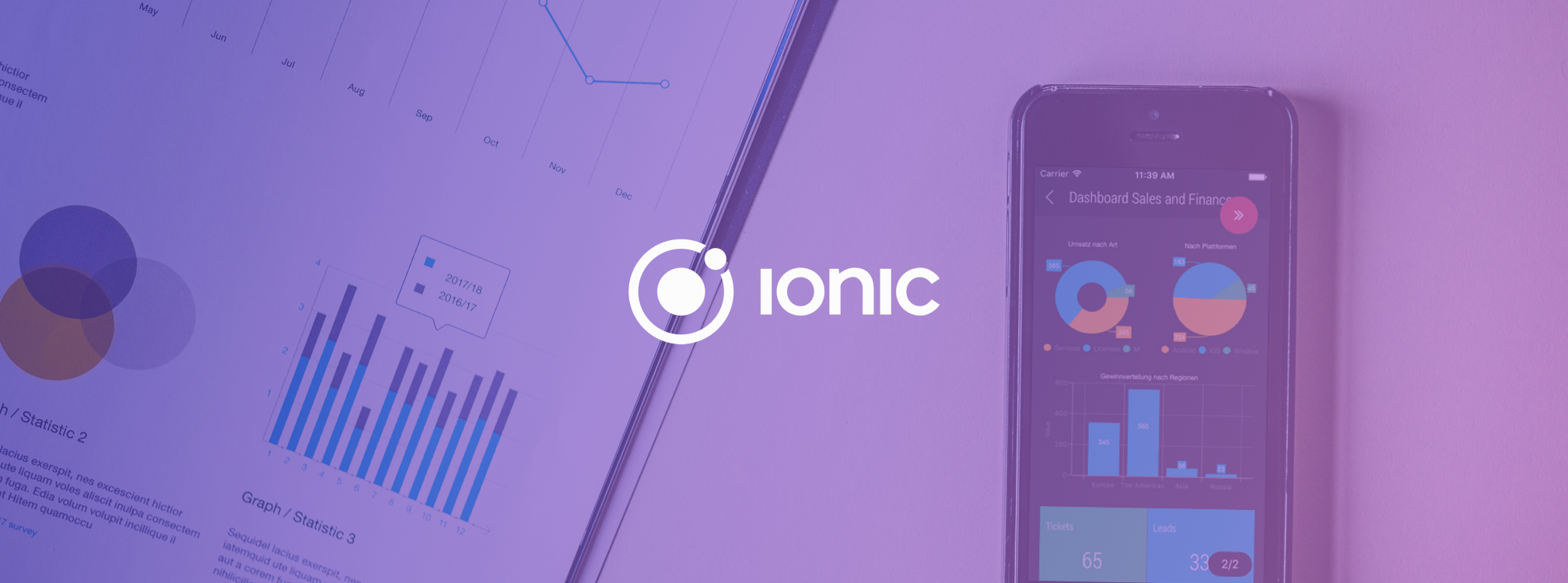 create charts with ionic 2