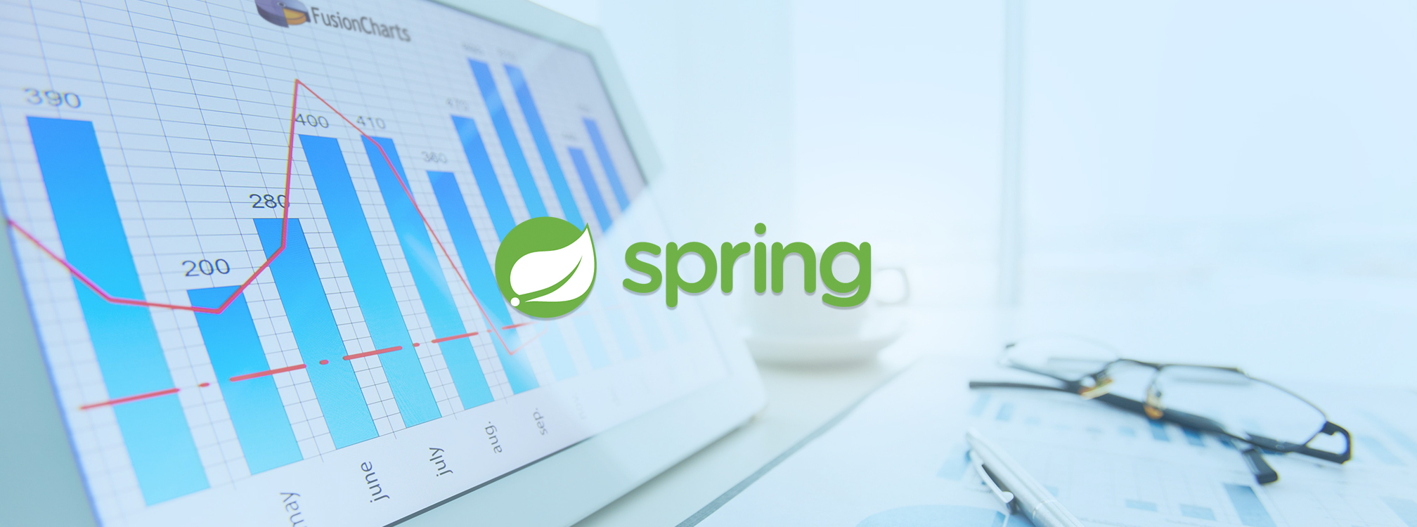 visualize data in spring framework