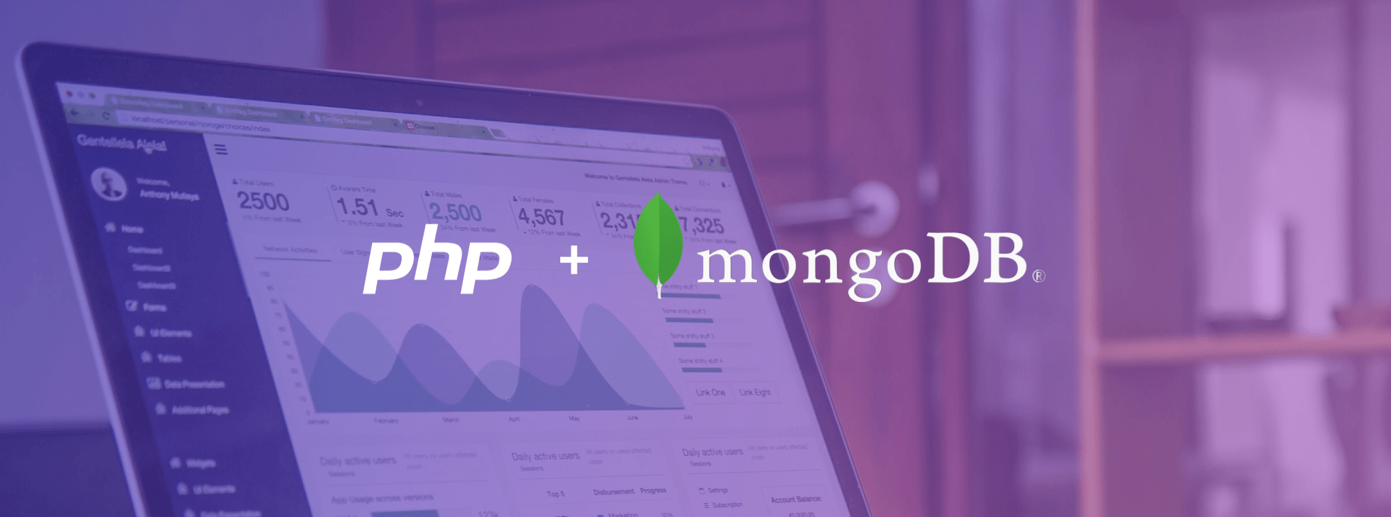 charting in php and mongoDB