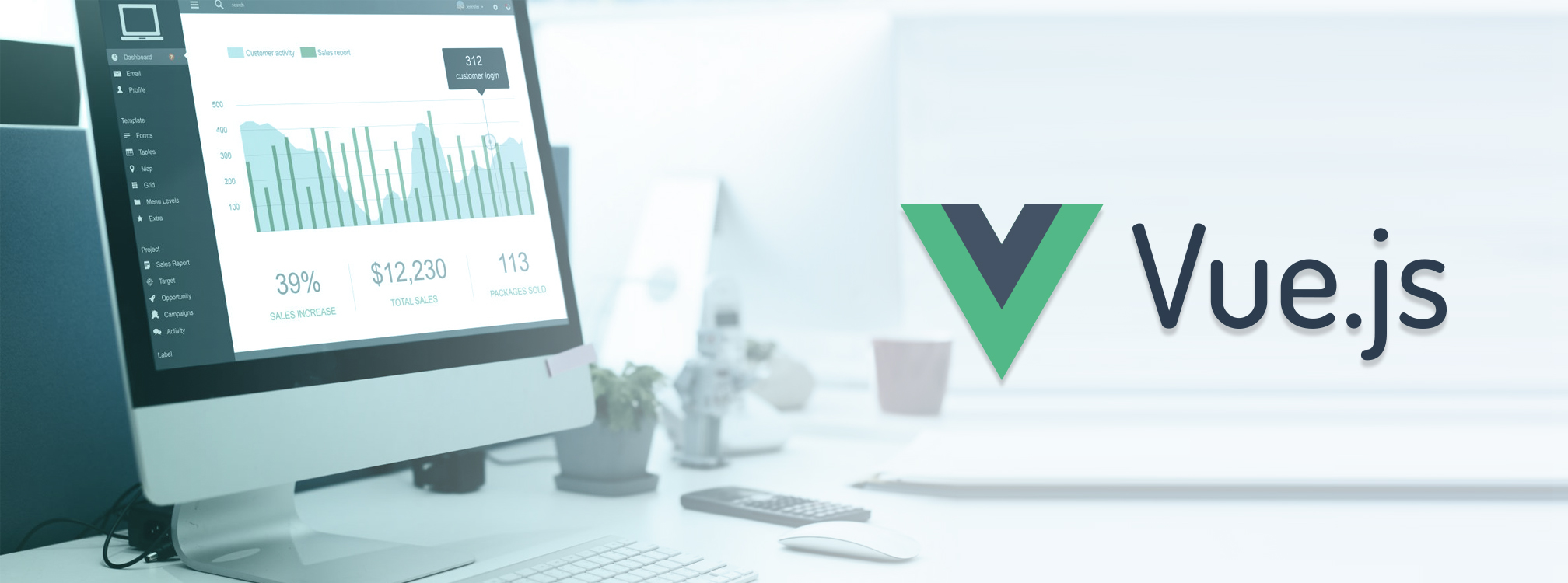 creating charts in vue js using FusionCharts