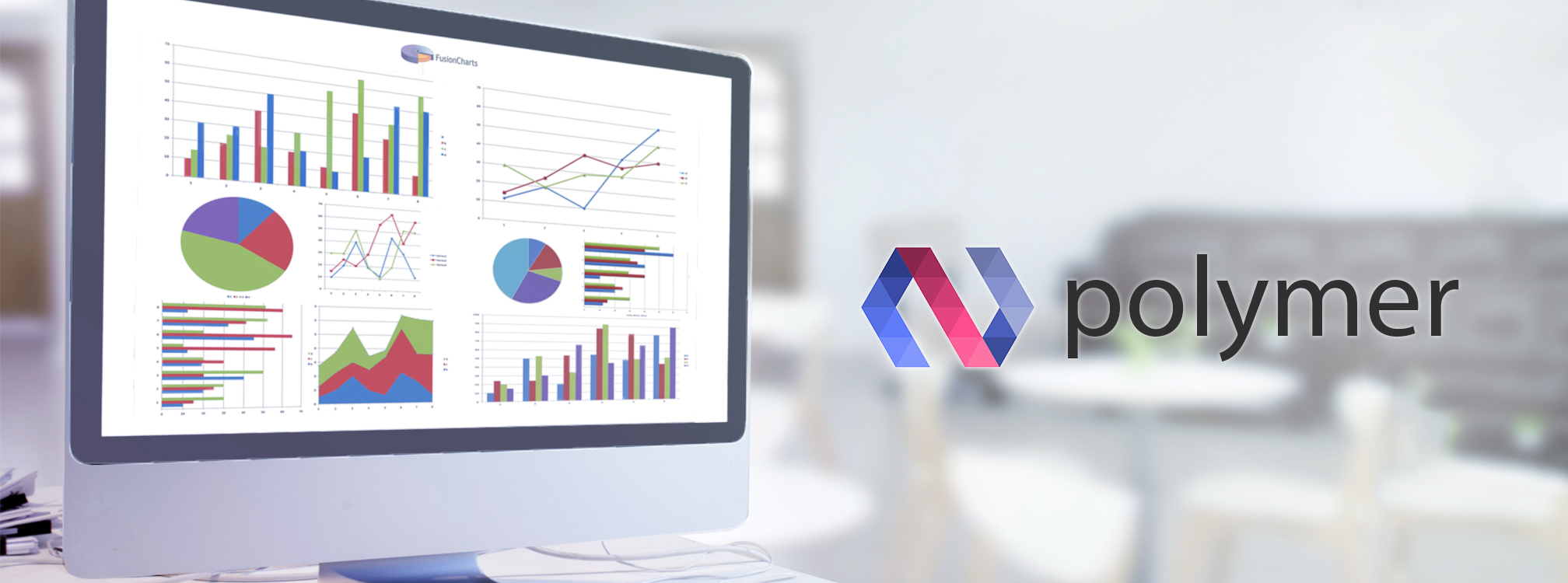 charts in Polymer JS Application