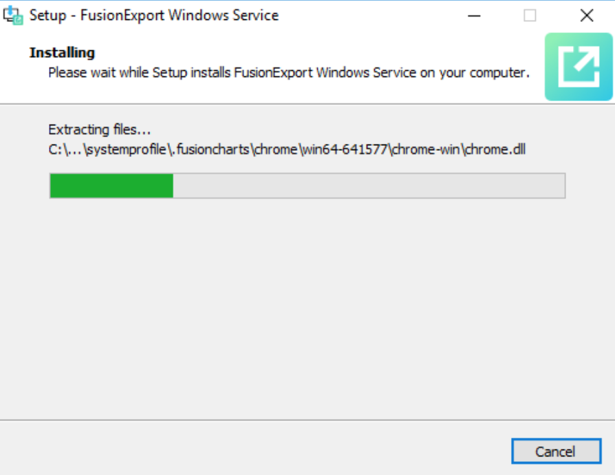 Install dependencies for Windows Service